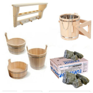 Бондарные изделия, аксессуары, камни