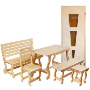 Двери, мебель, купели