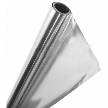 Фольга алюминевая 100 мкр. ширина1,2 м (20 м/п) 24 м2