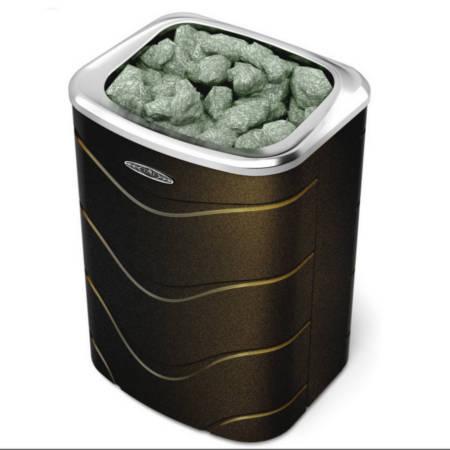 Печь электрическая Примавольта 6 кВт черная бронза