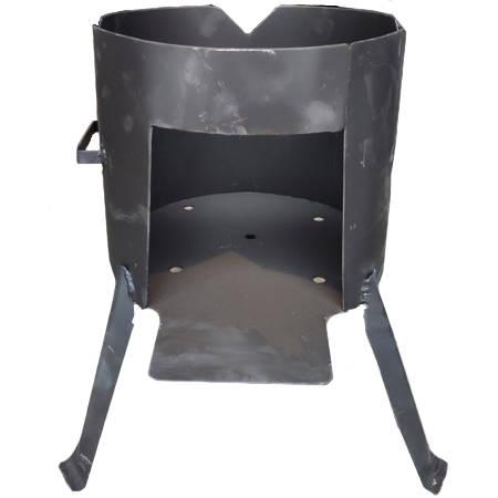 Печь под казан на 12 л (металл 2 мм)